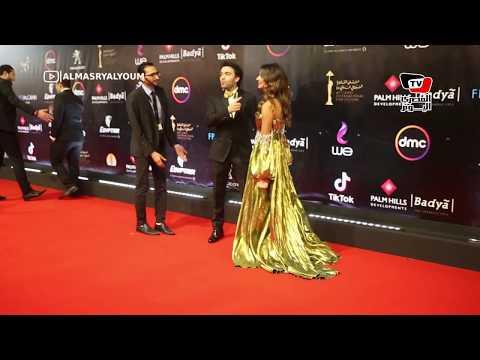 ايتن عامر وشريف رمزي وريهام أيمن في افتتاح مهرجان القاهرة السينمائي  - نشر قبل 24 ساعة