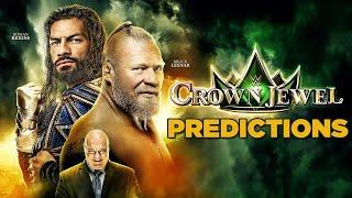 WWE Crown Jewel 2021 Predictions