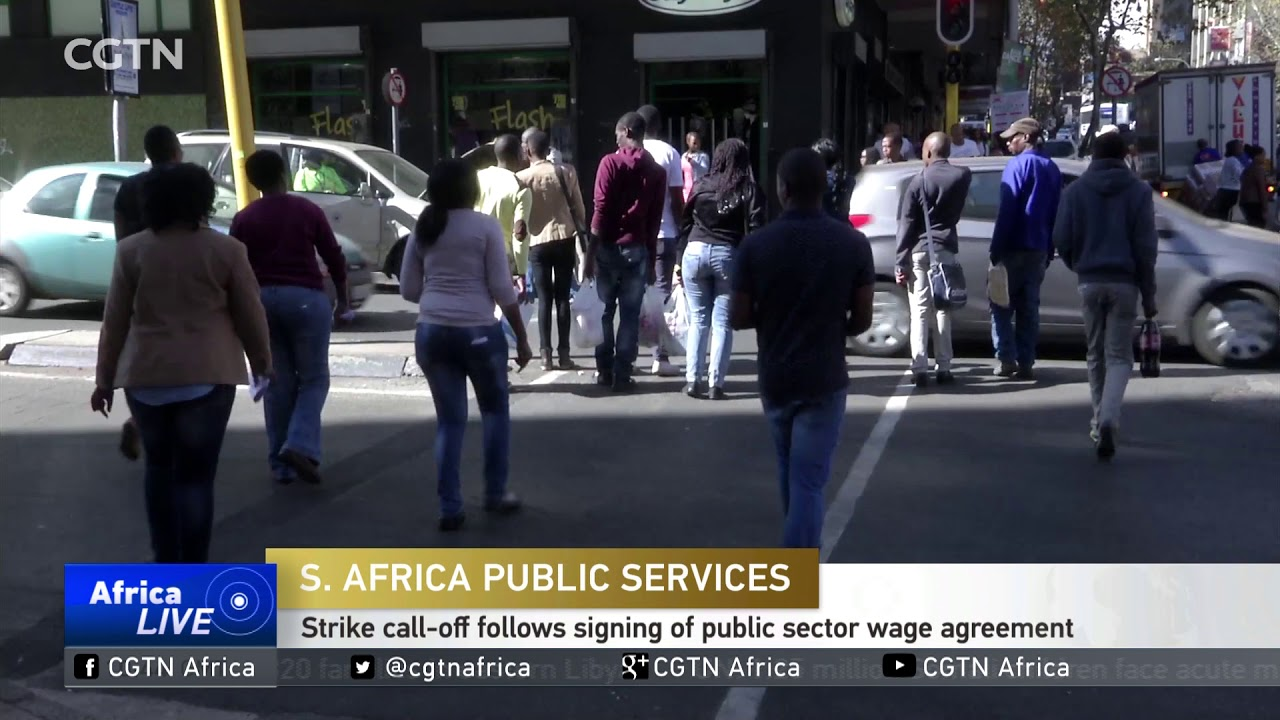 Sigh Of Relief As South African Public Servants Call Off Planned