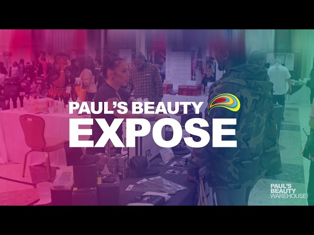 Thank You For Coming To Paul's Beauty Exposé 2018