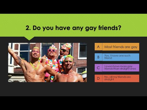 Sexuality quiz male