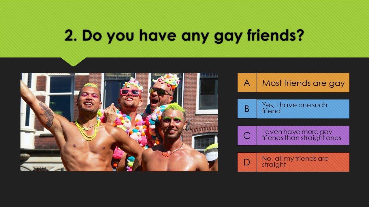 Gay Personality Quiz