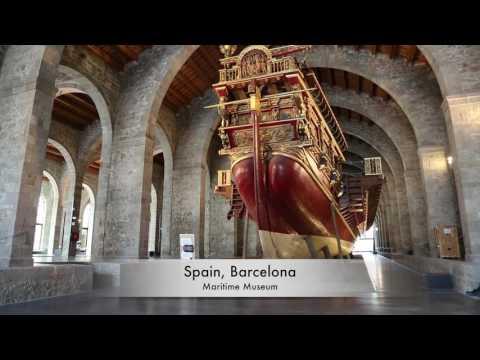Spain, Barcelona Maritime Museum