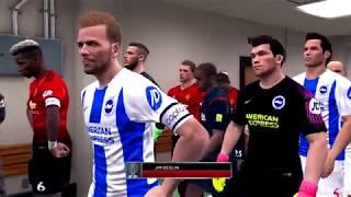 BRIGHTON vs MANCHESTER UNITED   Premier League 2018    19   Gameplay