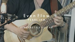 Even Flow - Pearl Jam - Fingerstyle Acoustic Guitar