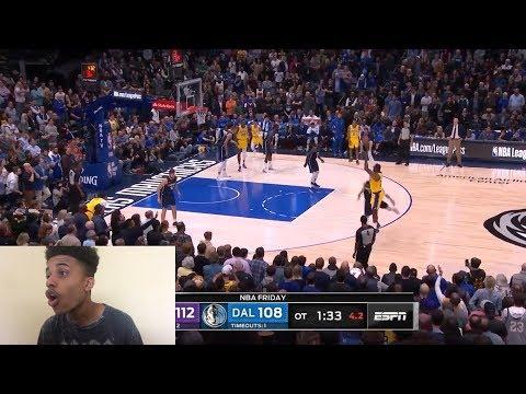 lebron-drops-40-hes-too-good!!!-lakers-vs-mavericks-highlights-reaction!!!