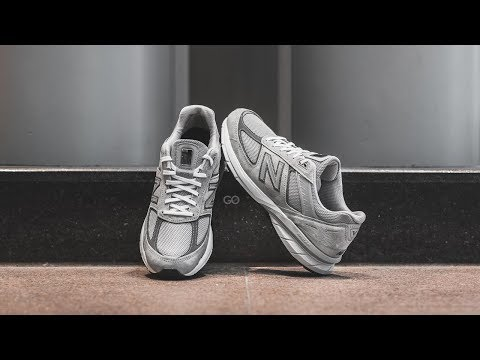 "New Balance 990 V5 ""Grey / Castlerock"": Review & On-Feet"