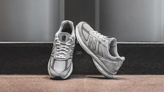 "New Balance 990 V5 ""Grey / Castlerock"": Review & On-Feet"