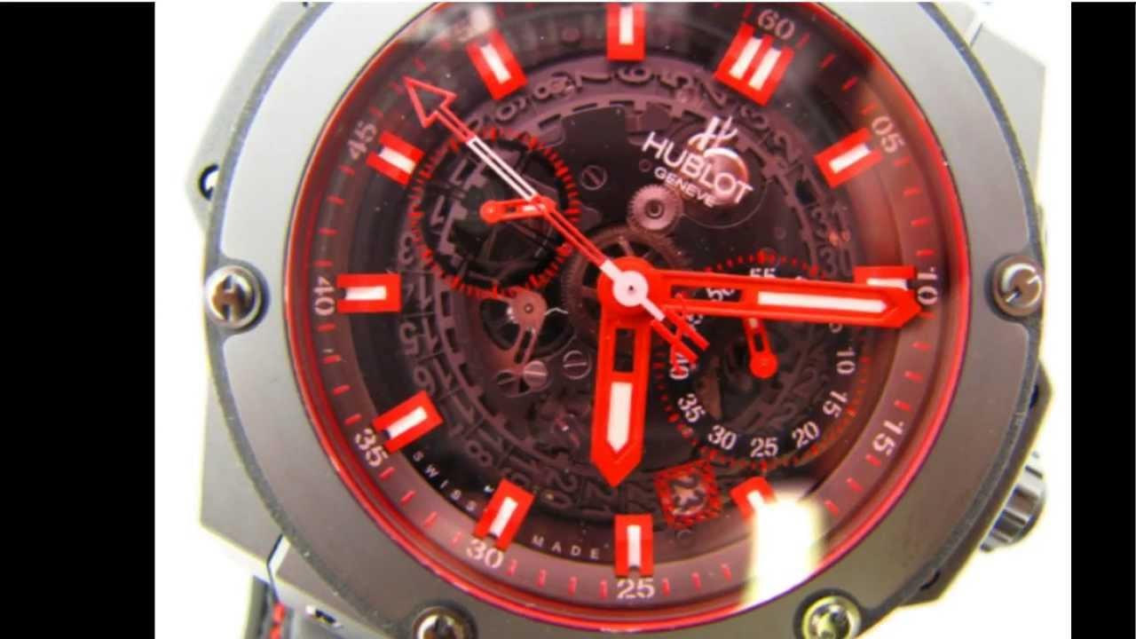 b0ca2f32d95 Hublot Big Bang King Power Red Magic Ref  701.CI.1123.GR - YouTube