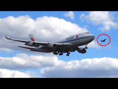 President of China! Air China 747-400 + 2x Euroflighter Escort Landing at Berlin Tegel Airport!