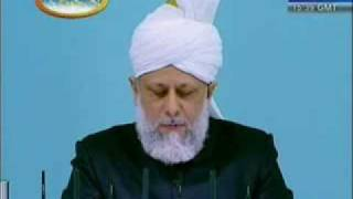 Eid-ul-Adha Sermon (December 2008) - Khalifatul Massih - Part 3 of 5