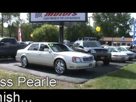 Sold 2002 cadillac dhs for sale at cassill motors video for Cassill motors used cars