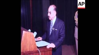 SYND 29 6 76 PRESIDENT AL-BAKR OF IRAQ OPENS ARAB CONFERENCE