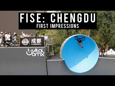 FISE: Chengdu, China 2017 - First Impressions