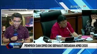 Akhirnya, Pemprov Dan DPRD DKI Jakarta Sepakati Besaran APBD 2020