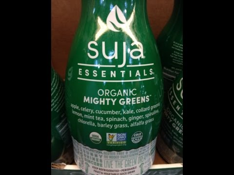 Suja Organic Mighty Greens Juice 59 Oz - Product Review