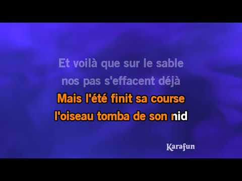 Karaoké Les moulins de mon coeur - Michel Legrand *