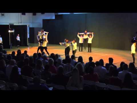NBPS Dance performance at Winter Wonderland