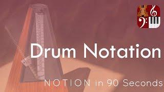 Drum Notation—PreSonus Notion in 90 Seconds
