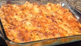 How to make Haitian Macaroni and Cheese ( Macaroni au gratin)
