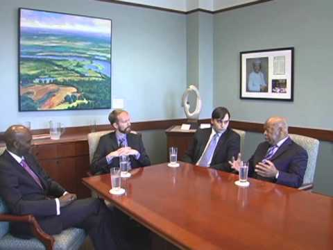 Institute Director interviews Civil Rights Leader Rep. John Lewis