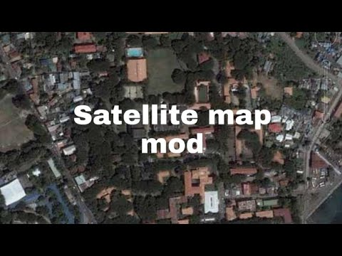 How To Change Satellite Style In Google Maps,
