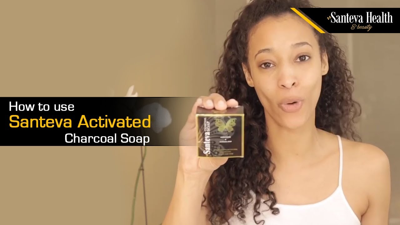 How to use Santeva Activated Charcoal Soap