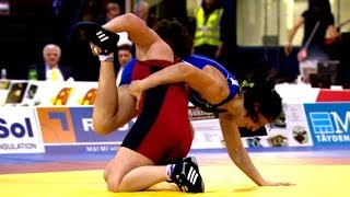75Kg Gold  - Women Wrestling - European Championships 2014
