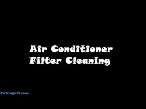 LG Window Air Conditioner Filter Cleaning Guide [2016]