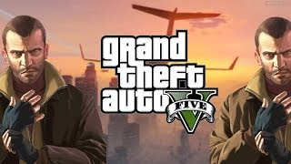 Niko Bellic Plays GTA 5 Online