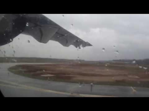 ATR 72 Руление и взлет из Кирова (USKK/KVX)/ Taxi And Takeoff From Kirov