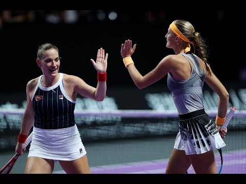 Sabalenka/Mertens vs. Mladenovic/Babos | 2019 WTA Finals | WTA Highlights