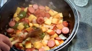Rivet's Cabbage & Kielbasa