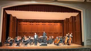 Daniel Spiotta, baritone   Hai gia vinta la causa with the Memphis Repertory Orchestra