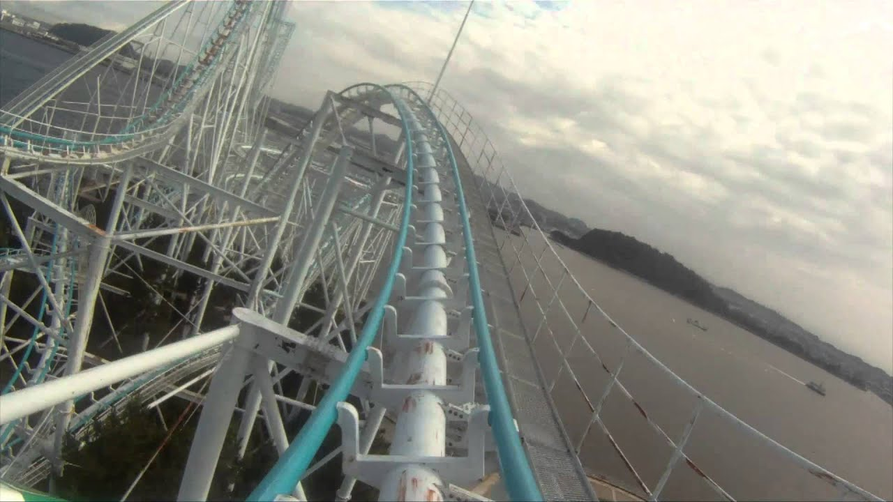 leviathan roller coaster front seat
