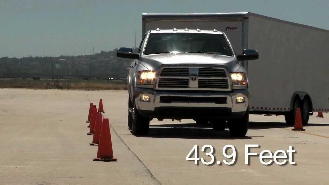 Turning Radius - Ram HD vs Ford HD and Chevy HD