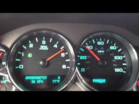 2012 GMC Sierra 0-60 MPH (specs in description)