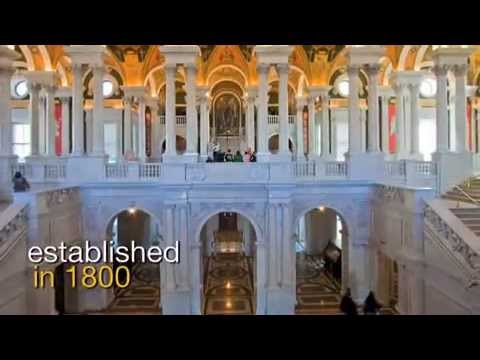 Library of Congress Washington DC Video Tour