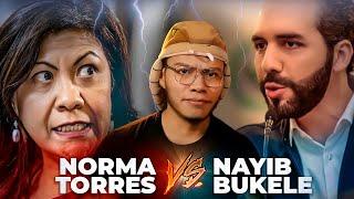 NORMA TORRES CONTRA NAYIB BUKELE - SOY JOSE YOUTUBER