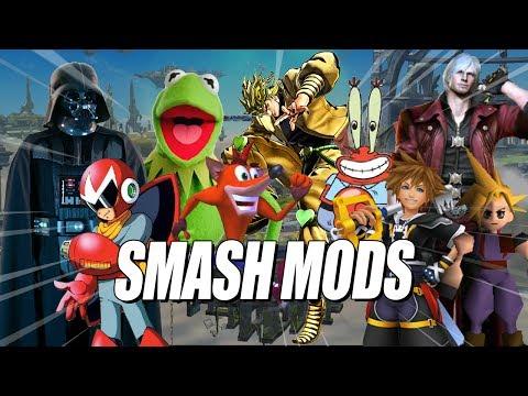 SMASH MODS - Hype & Rage Compilation: Super Smash Bros 4 Wii U