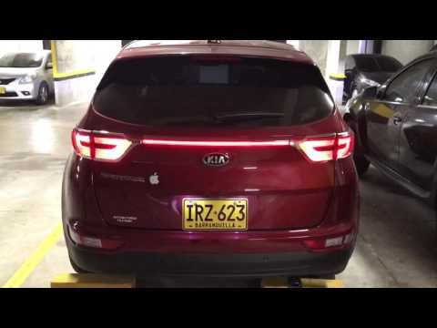 stop central led kia sportage ql tail lamp led youtube. Black Bedroom Furniture Sets. Home Design Ideas