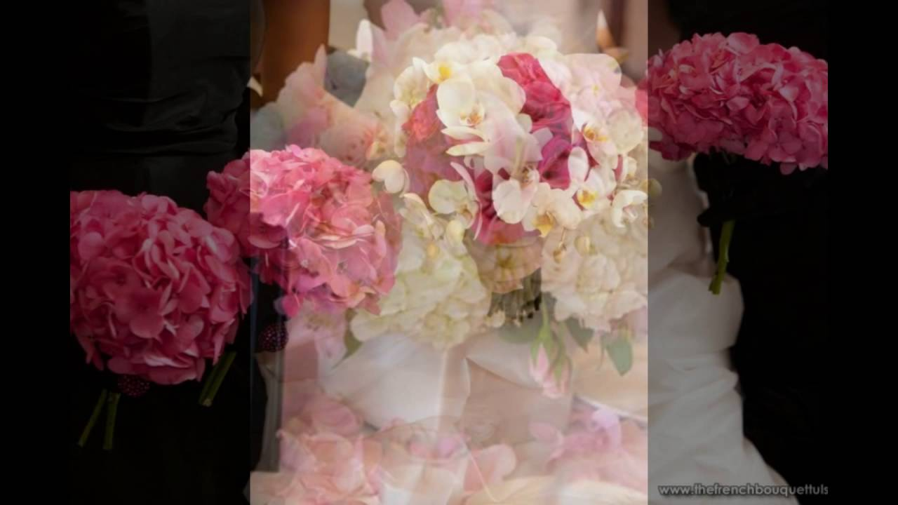 White hydrangea and red pink rose centerpieces youtube
