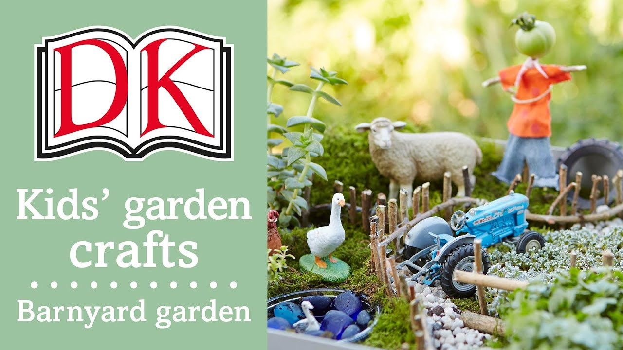 Fun Kidsu0027 Craft: Make A Miniature Garden   YouTube