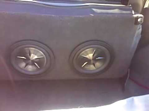 Jeep Tj In Seat Subwoofer Youtube