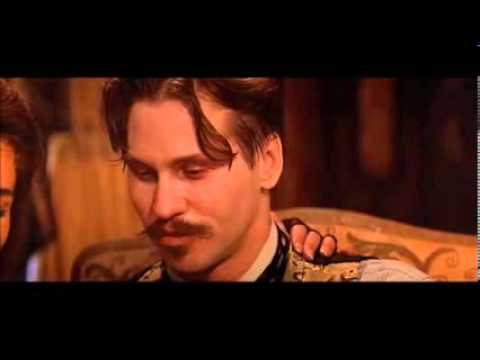 Tombstone ... Holliday Says - ' I Know,Lets Have A Spelling Contest ' ( Full Scene )