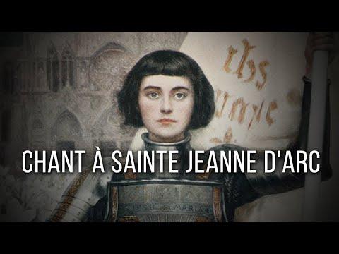 Chant à Sainte Jeanne d'Arc - Canto católico francês