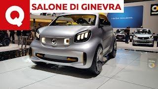 La smart mette il casco: la forease+ a Ginevra 2019 - Salone di Ginevra 2019 | Quattroruote