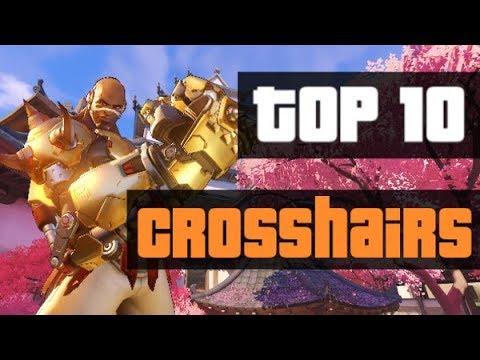 Overwatch: Best Crosshairs (top 10 crosshairs for Overwatch)