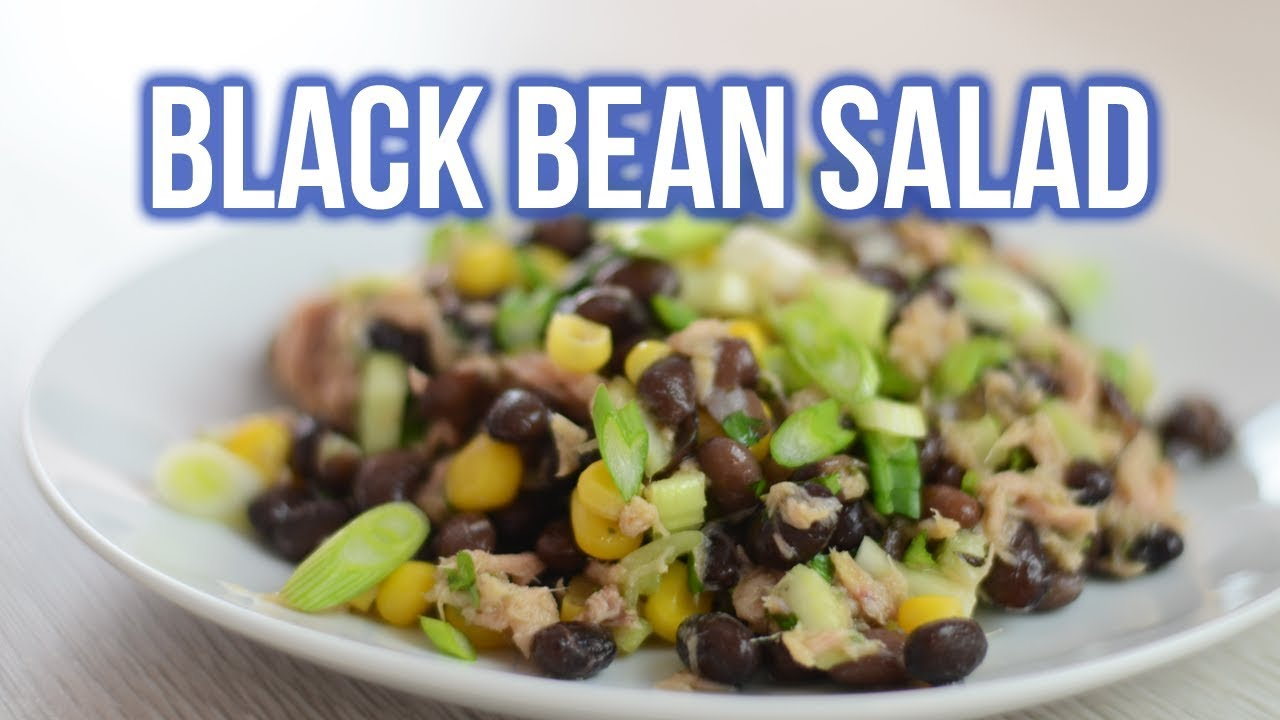 Easy Black Bean Salad