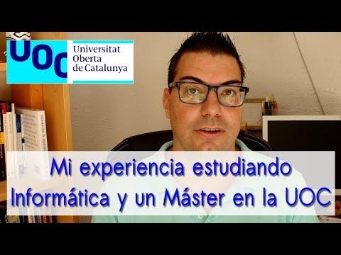 Mi experiencia estudiando Informática y un Máster en la UOC(Universitat Oberta de Catalunya)